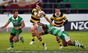Beauden Barrett played against Aaron Cruden in ITM Cup when Taranaki was facing Manawatu
