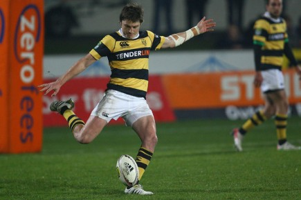 Beauden Barrett playing for Taranaki in the ITM Cup