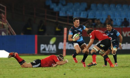 The Springboks and Bulls centre Jesse Kriel facing the Crusaders at Loftus Versfeld in Pretoria