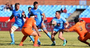 The Bulls centre Jesse Kriel carrying the ball against the Jaguares during the 2018 Super Rugby game, at Loftus Versfeld, Pretoria