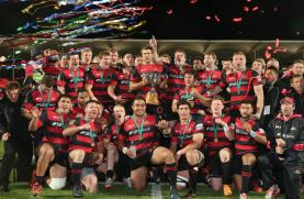 Canterbury won the Mitre 10 Cup in 2015 when they beat Auckland in Chirstchurch