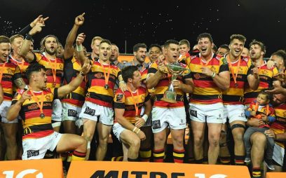 Waikato won the Championship Final during the 2018 Mitre 10 Cup against Otago in FMG Stadium, Hamilton, New Zealand