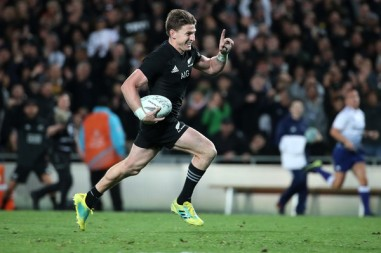 Beauden Barrett has not said if he will stay in New Zealand after the World Cup in 2019