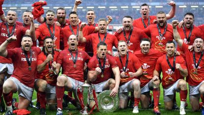 Wales won the Grand Slam during the 2019 Six Nations Championship
