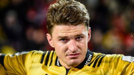Beauden Barrett played his last game for the Hurricanes during the 2019 Super Rugby semi-final against the Crusaders
