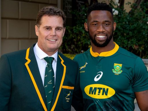 The South Africa coach Rassie Erasmus named Siya Kolisi as the first ever Black South Africa Captain in June, 2018