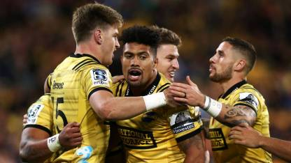 The Hurricanes got a bonus point win in Wellington against the Chiefs during the 2019 Super Rugby