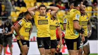 The Hurricanes were outplayed at home by the Crusaders during the 2019 Super Rugby regular season