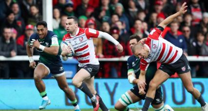 Fullback Tom Marshall scored a brace for Gloucester against Connacht during the Round 3 game of the 2019-2020 Champions Cup